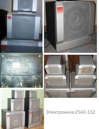 Акустика Электроника 25АС-132