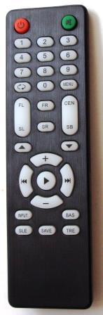 remote control dac