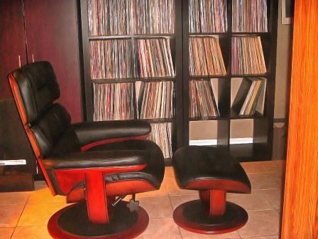 кресло для прослушивания музыки
