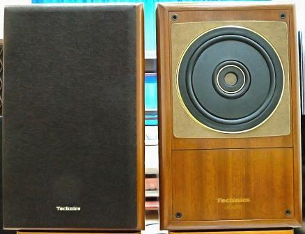 Редкая винтажная акустика Technics SB-RX70 с шикарной звуковой
