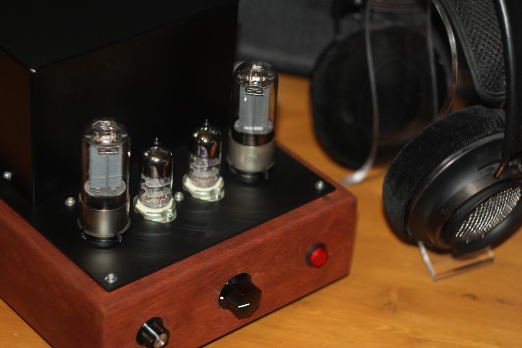 ламповый усилитель  30П1С + 6С4П-ЕВ