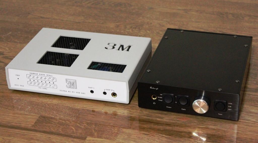 ЦАП ESS-902 и AudioGD R2R