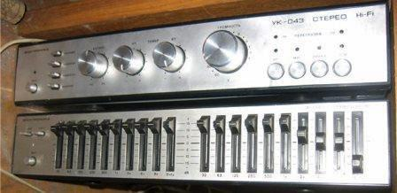 Электроника УК-043 стерео