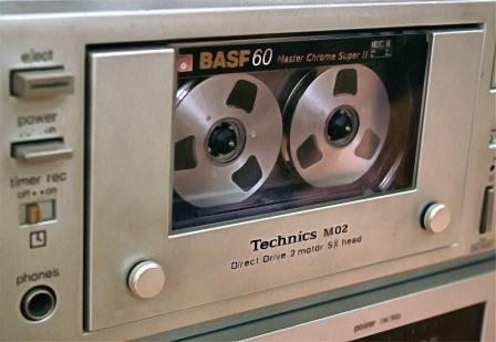 кассета BASF в Technics М02