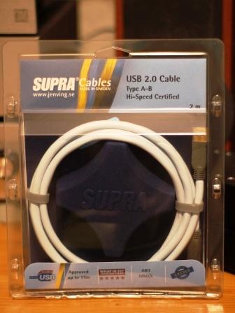 Supra USB 2.0 A-B Blue обзор