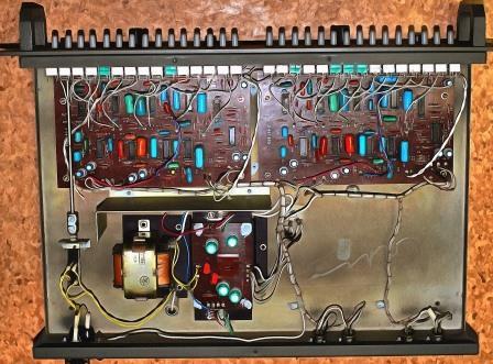 эквалайзер Электроника Э-06 внутри
