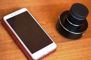виброколонка + смартфон