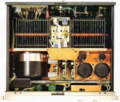 Luxman М-06 внутри