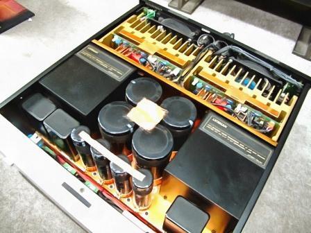 Luxman М-07 внутри