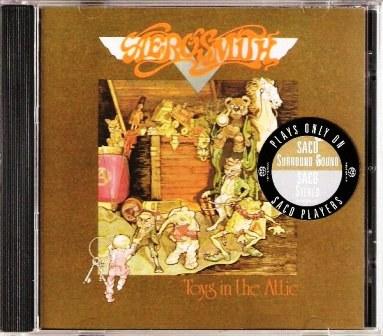 Aerosmith - Toys In The Attic – SACD – Stereo