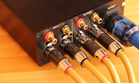 кабель Cardas GOLDEN 5C подключение
