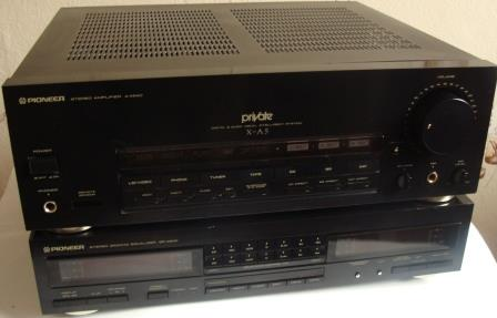 stereo amplifier a-x640