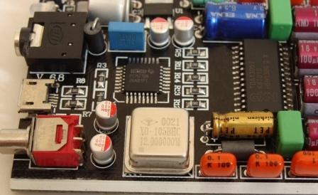 DAC_PCM2706 + TDA1305