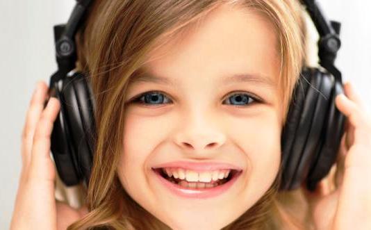 звук и дети