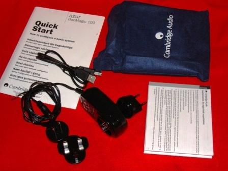 ЦАП Cambridge Audio DacMagic 100 блок питания