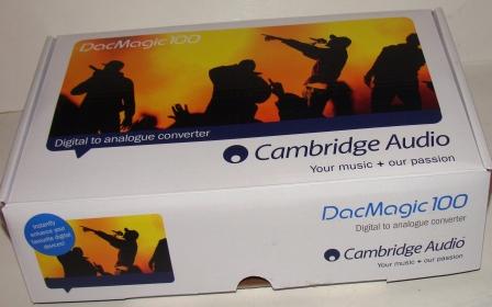 ЦАП Cambridge Audio DacMagic 100 коробка