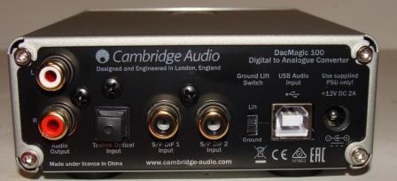 ЦАП Cambridge Audio DacMagic 100 обзор