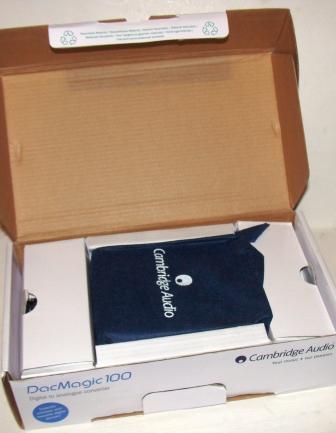 ЦАП Cambridge Audio DacMagic 100 распаковка