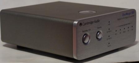 ЦАП Cambridge Audio DacMagic 100 сбоку