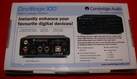 ЦАП Cambridge Audio DacMagic 100 box