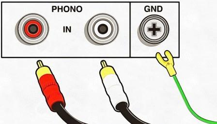 подключить фонокорректор правильно