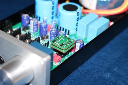 ОУ в усилителе для наушников клон Лехман Fox Lab SH-02