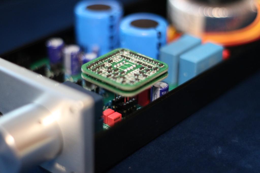 Fox Lab SH-02 в усилителе для наушников