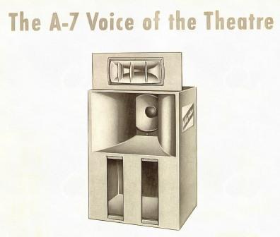 Altec A7 Voice of the Theatre