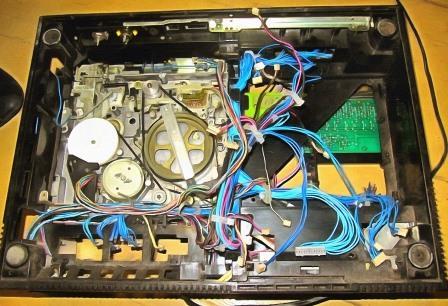 Электроника ВМ-12 внутри