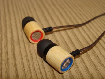 KZ ED7 бамбуковые наушники