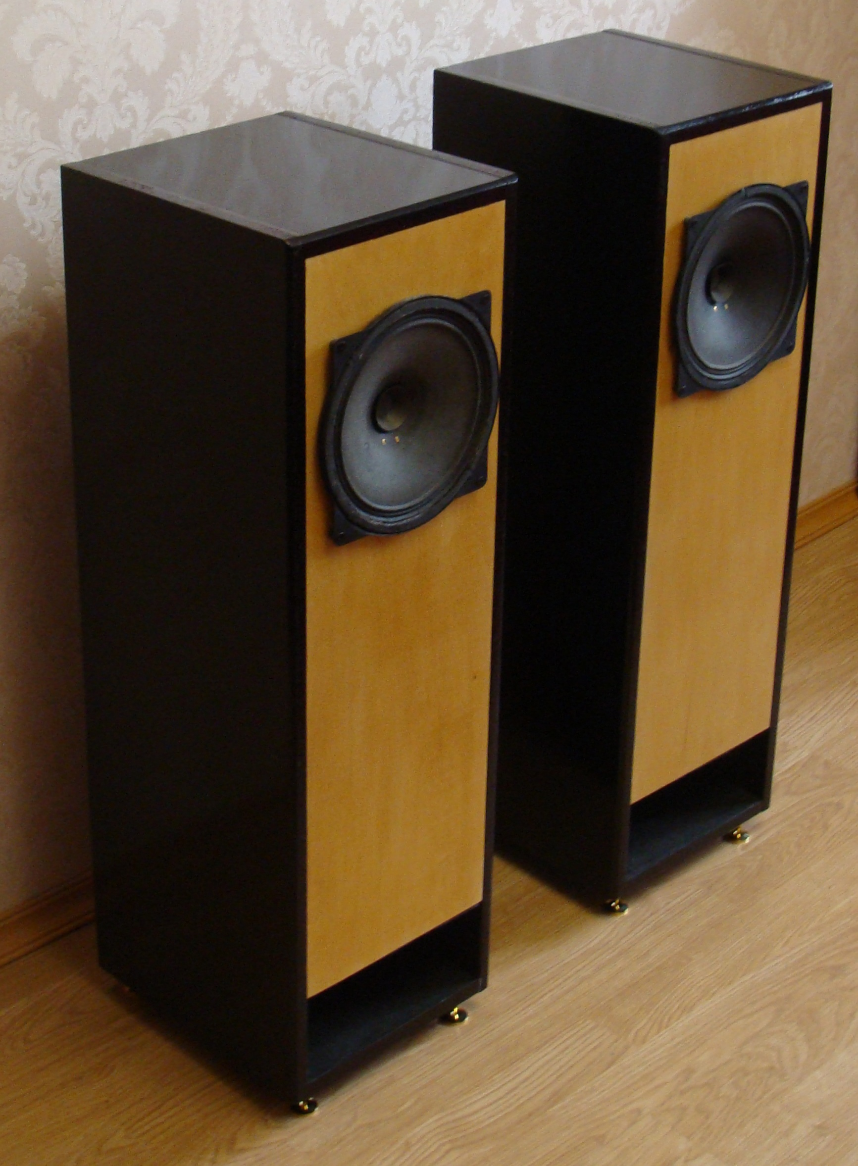 акустика на широкополосных динамиках 4ГД35