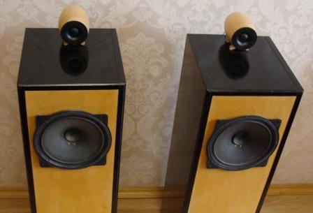 акустика 4ГД35 + ВЧ динамики