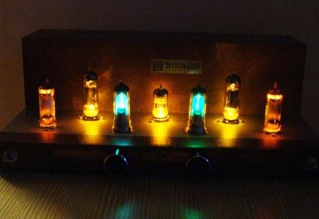 купить ламповый усилитель в темноте