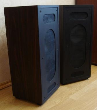 Полочно-напольная акустика на 3ГД45 и 2ГД36