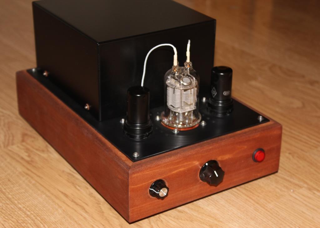 ламповый усилитель на ГМИ 6+ 6Ж8