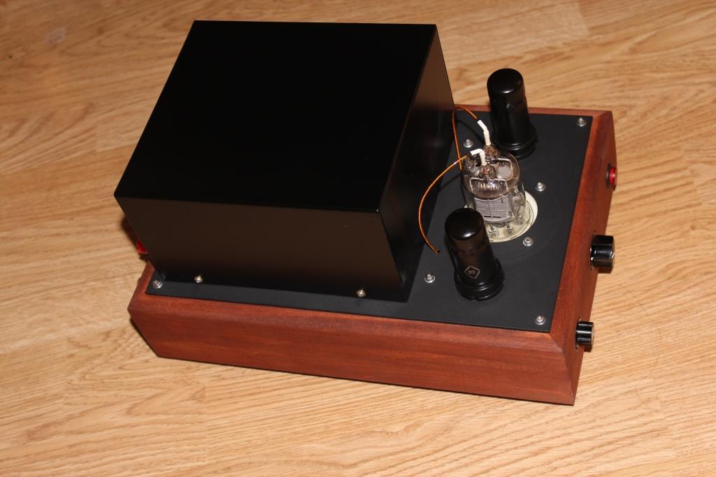 ламповый усилитель на ГМИ-6+ 6П9