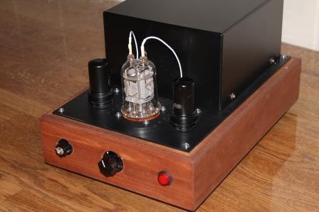 ламповый усилитель на лампах ГМИ 6+ 6Ж8