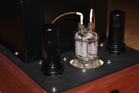 ламповый усилитель на лампах ГМИ 6+ 6П9