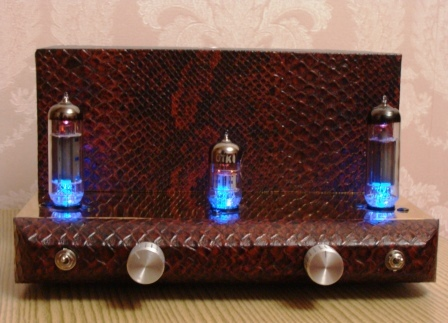 ламповый усилитель на 6Н2П