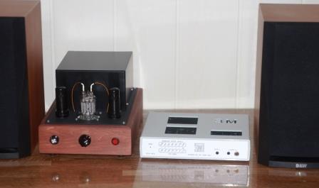ЦАП ESS-902 ЗМ + ламповик ГМИ 6 + b&W302