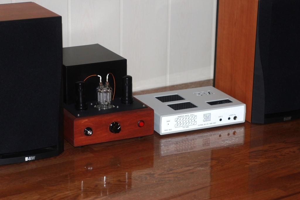ЦАП ESS-902 ЗМ + ламповик + АС b&W302 -хороший комплект