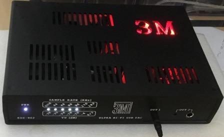 внешний ЦАП черный ESS-902 ЗМ прослушивание в наушниках