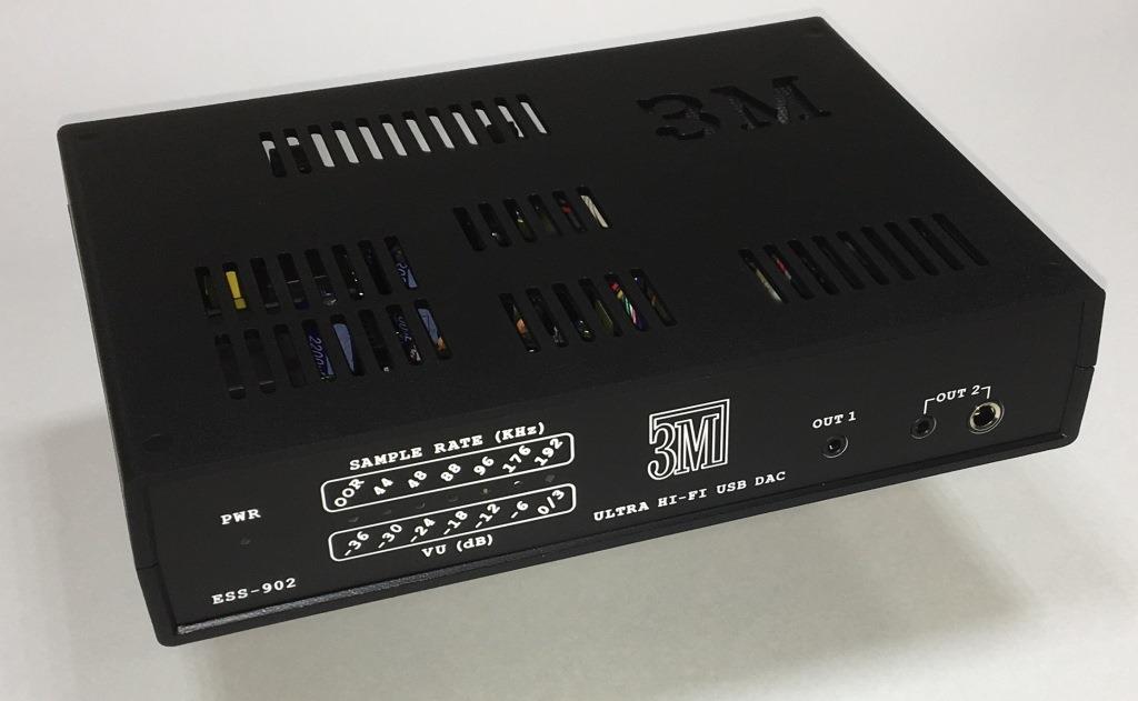 внешний ЦАП черный ESS-902 ЗМ