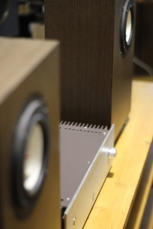 Усилитель в классе А + акустика звук