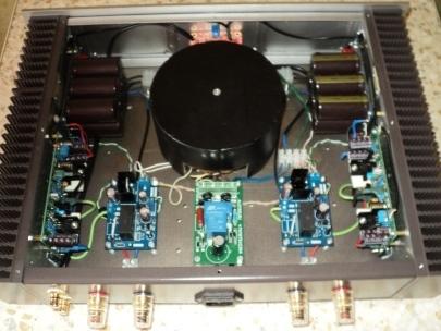 L20 внутри комплектующие