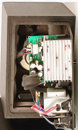 активные мониторы внутри ADAM F5