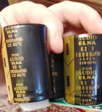 конденсаторы Elna 10000мкф