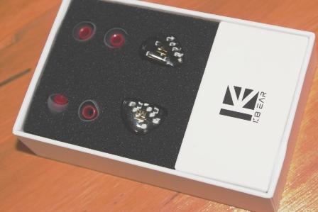 наушники KB EAR Opal распаковка