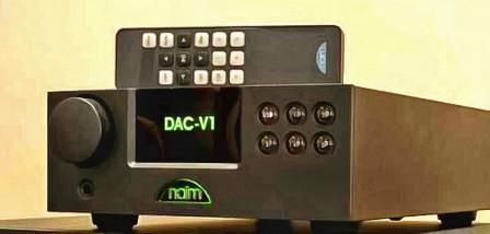 Naim DAC-V1 сзади