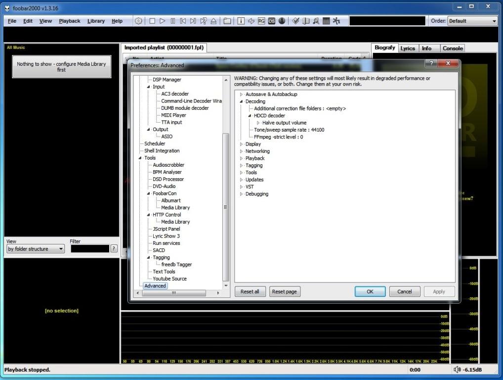 Декодирование HDCD в foobar2000